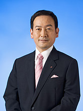 Photo:President Yorihisa Suwa