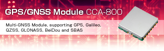 GPS/GNSS Module CCA-800 | JRC(Japan Radio Co , Ltd )
