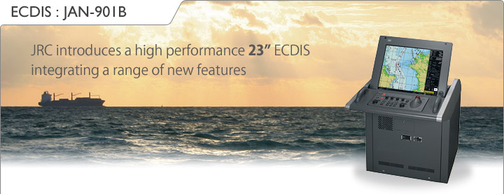 Image:JAN-901B JRC introduces a high performance 23 ECDIS integrating a range of new features