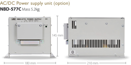 Image : AC/DC Power supply unit (option) NBD-577C