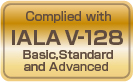 Image:Complied with IALA V-128 Basic, Standard and Advanced